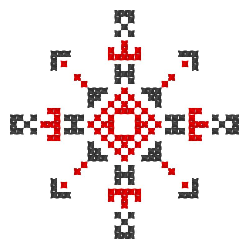 Текстовий слов'янський орнамент: Даніель