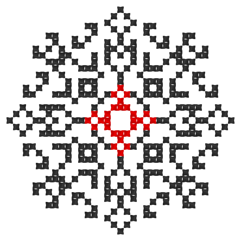 Текстовий слов'янський орнамент: Сумую 01