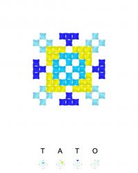 Текстовый украинский орнамент: ТАТО
