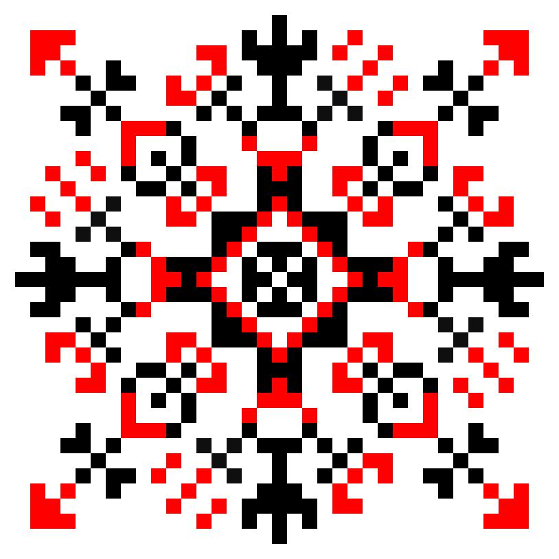 Текстовий слов'янський орнамент: світлана сила життя