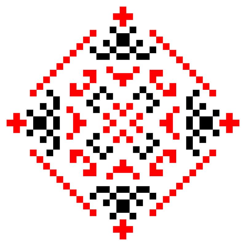 Текстовий слов'янський орнамент: СПАСИ