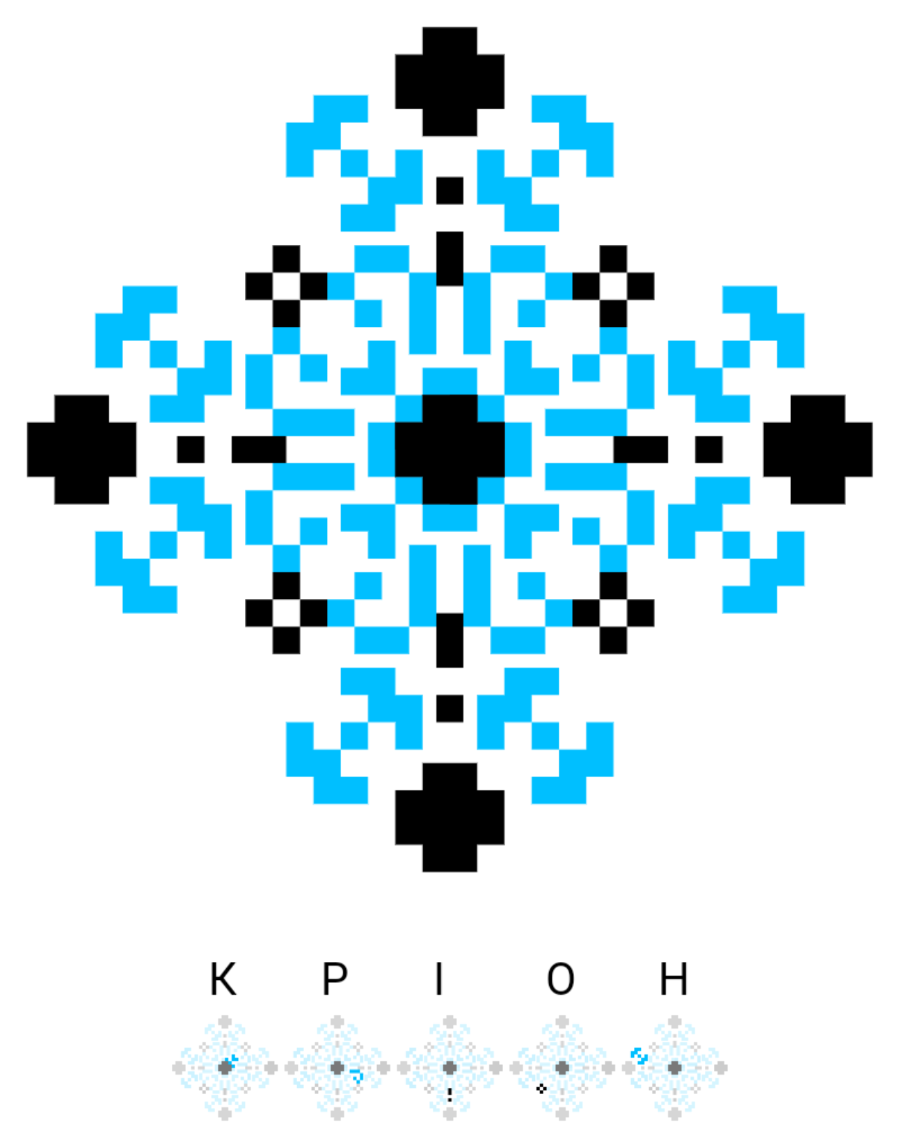 Текстовий слов'янський орнамент: Кріон