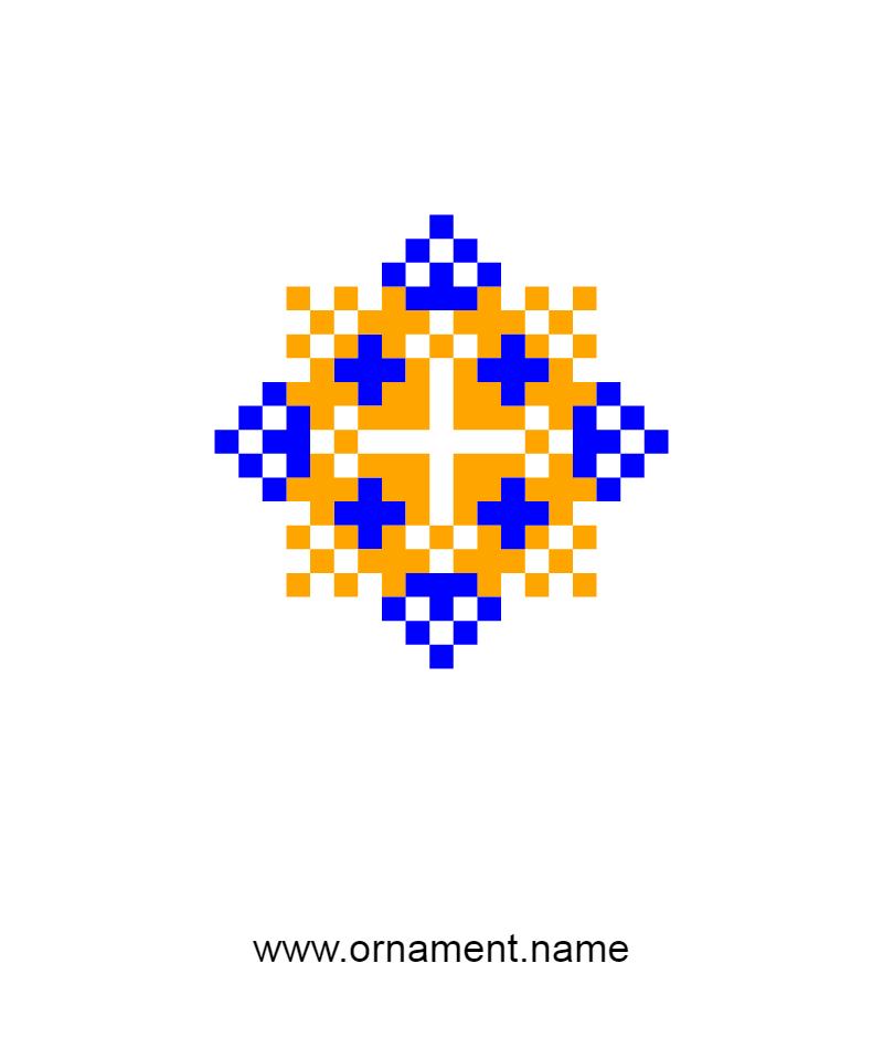 Текстовий слов'янський орнамент: Ахмед