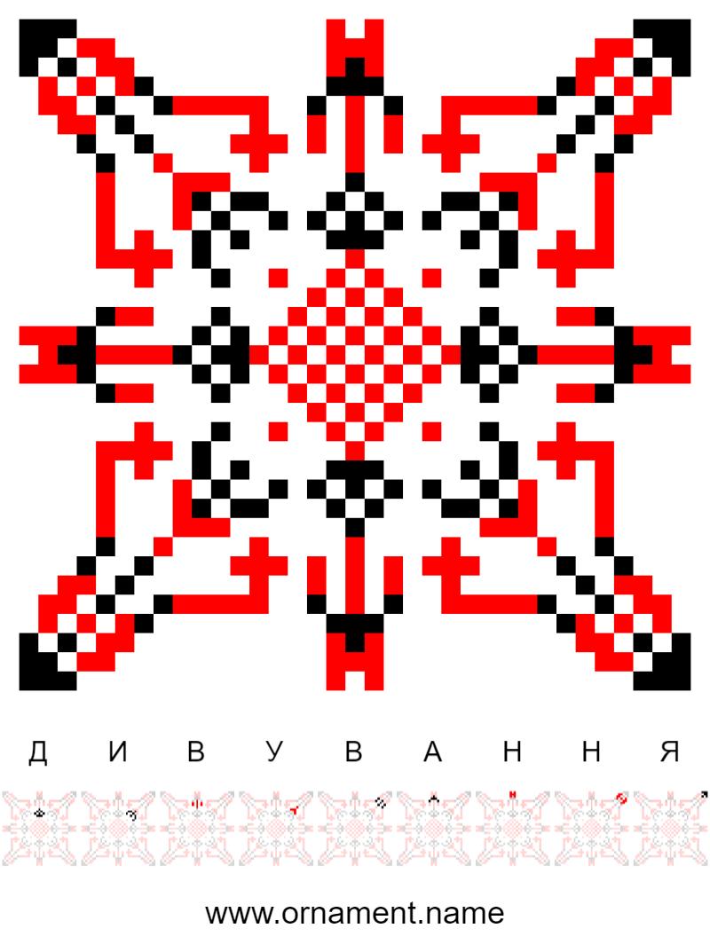 Текстовий слов'янський орнамент: Здивування