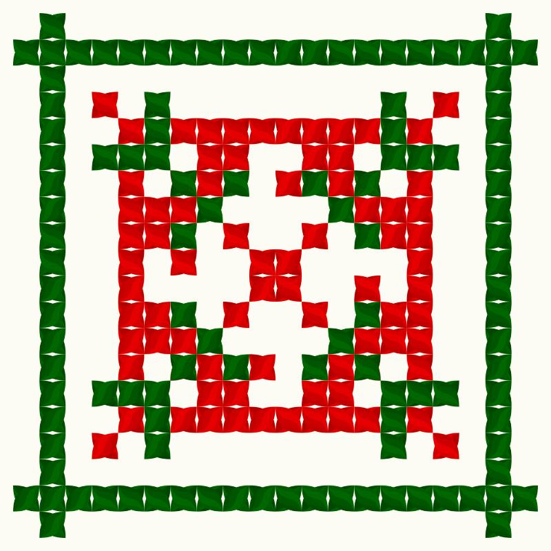 Текстовий слов'янський орнамент: Італія
