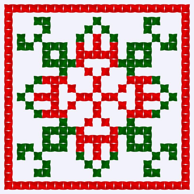 Текстовий слов'янський орнамент: Уельс