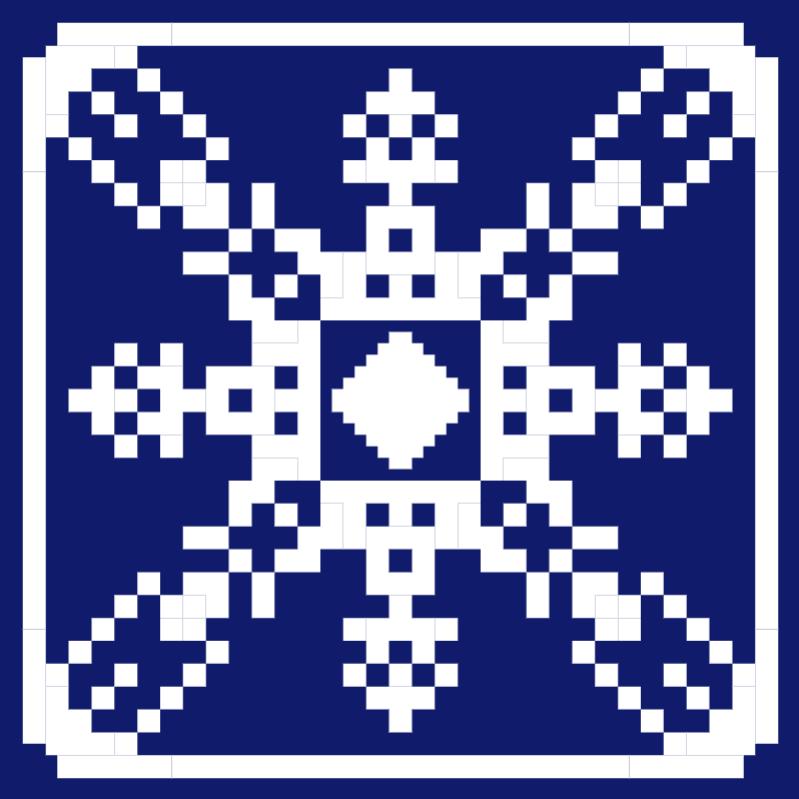 Текстовий слов'янський орнамент: Шотландія