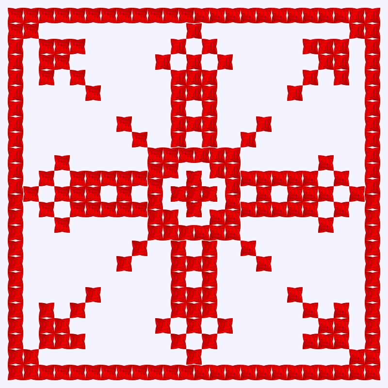 Текстовий слов'янський орнамент: Англія