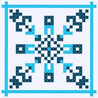Текстовый украинский орнамент: ІПО КУБГ