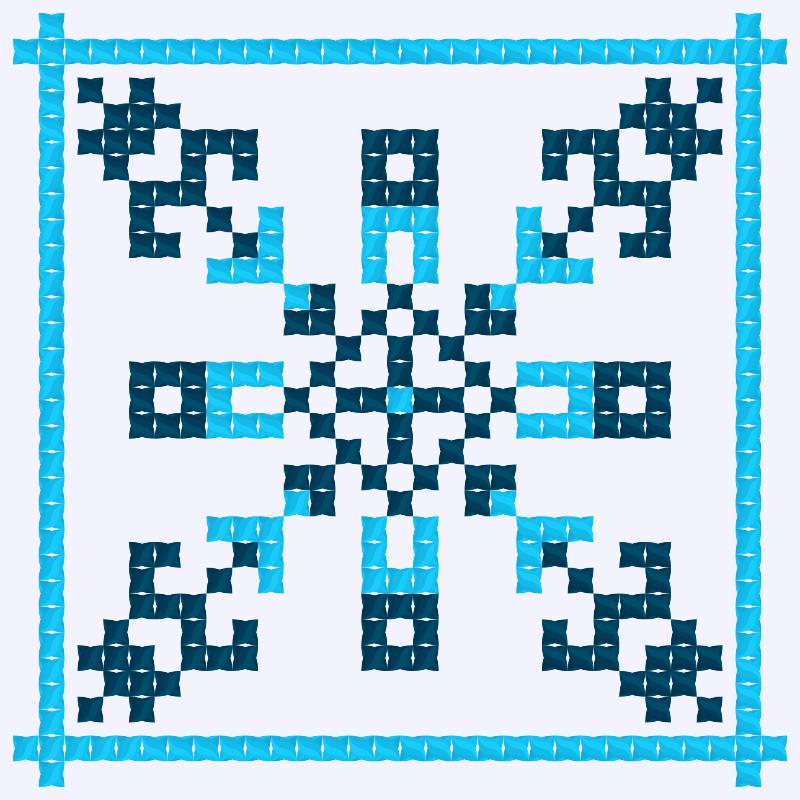 Текстовий слов'янський орнамент: ІПО КУБГ