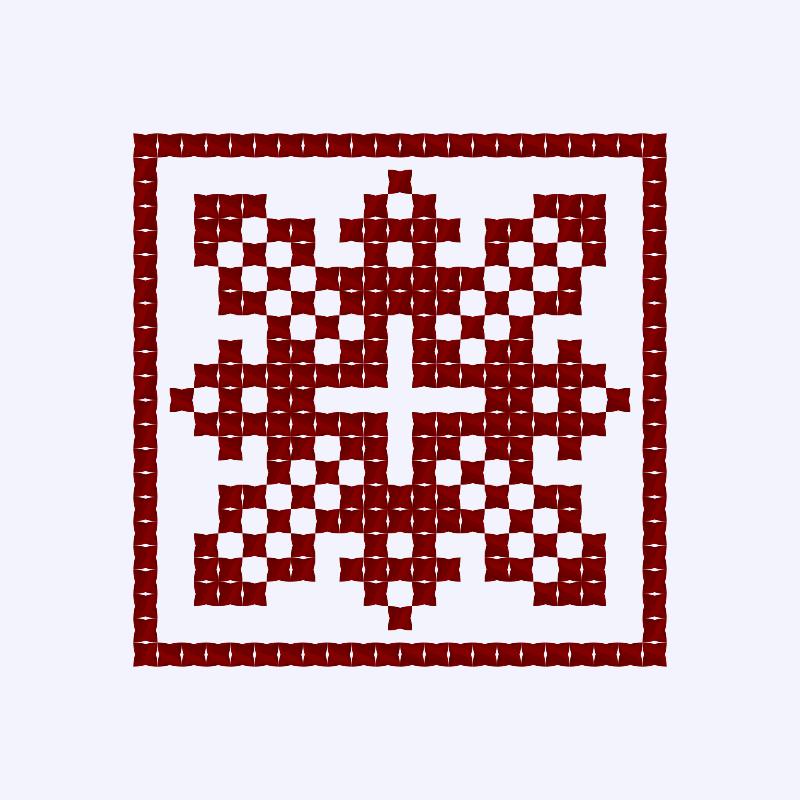 Текстовий слов'янський орнамент: Полісся