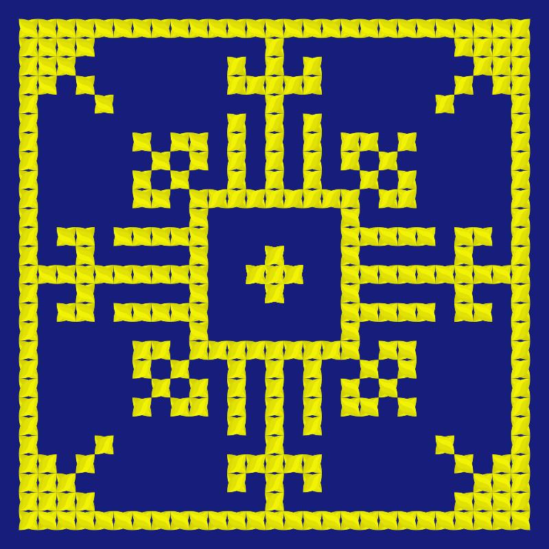 Текстовий слов'янський орнамент: Швеція