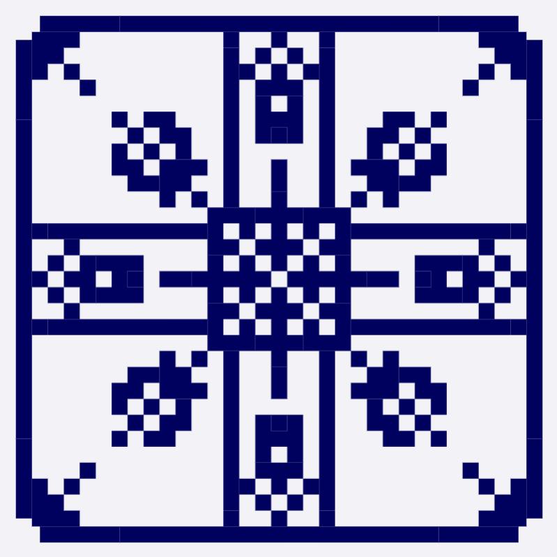 Текстовий слов'янський орнамент: Фінляндія