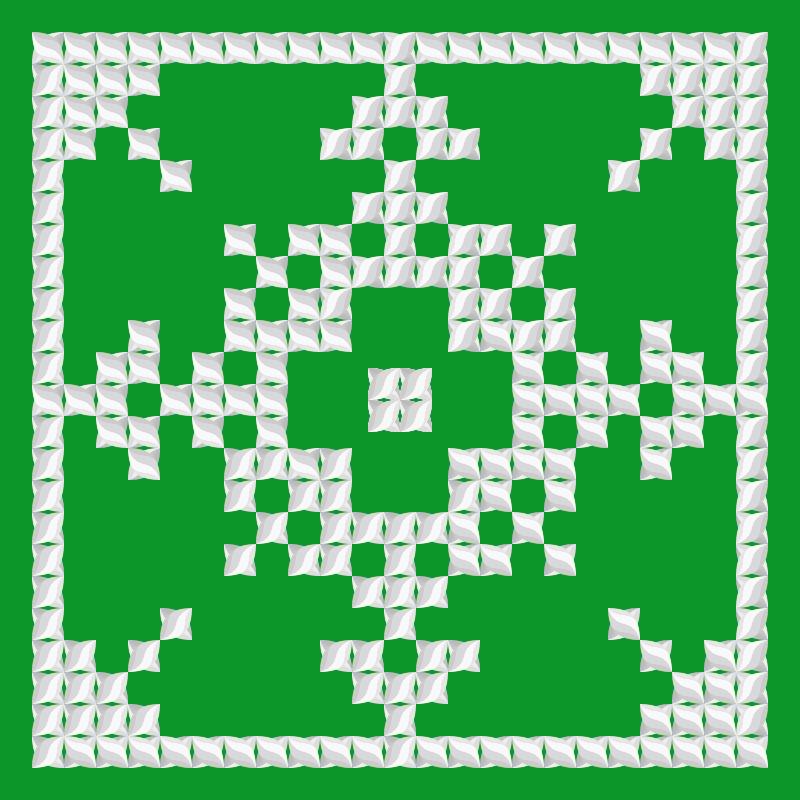 Текстовий слов'янський орнамент: АКАЦІЯ