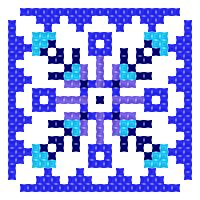 Текстовый украинский орнамент: Вода