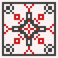 Текстовый украинский орнамент: І.П. Пулюй