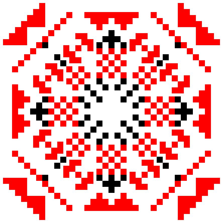 Текстовий слов'янський орнамент: везіння
