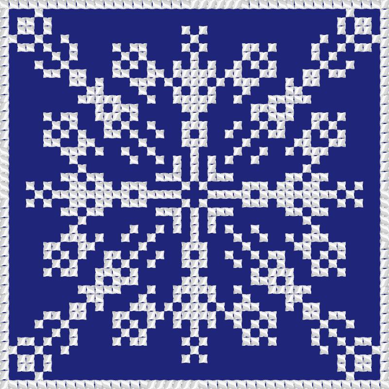 Текстовий слов'янський орнамент: Прізвище, ім'я, по батькові