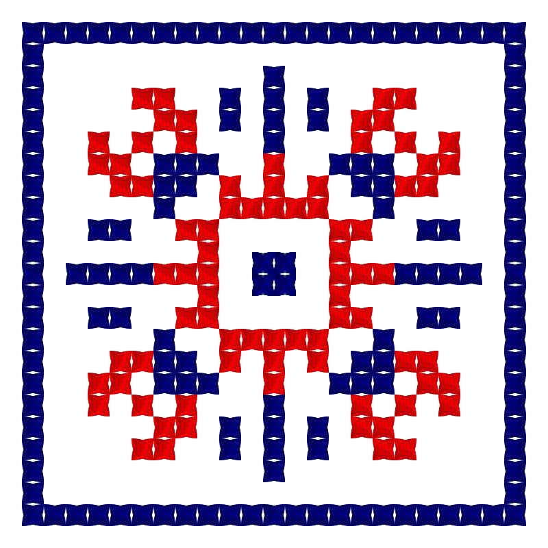 Текстовий слов'янський орнамент: Еван
