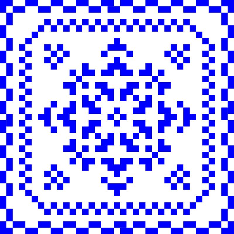 Текстовий слов'янський орнамент: фантазія