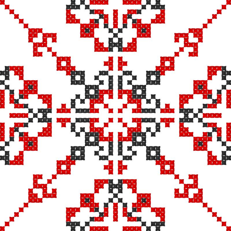 Текстовий слов'янський орнамент: Вільна боротьба1