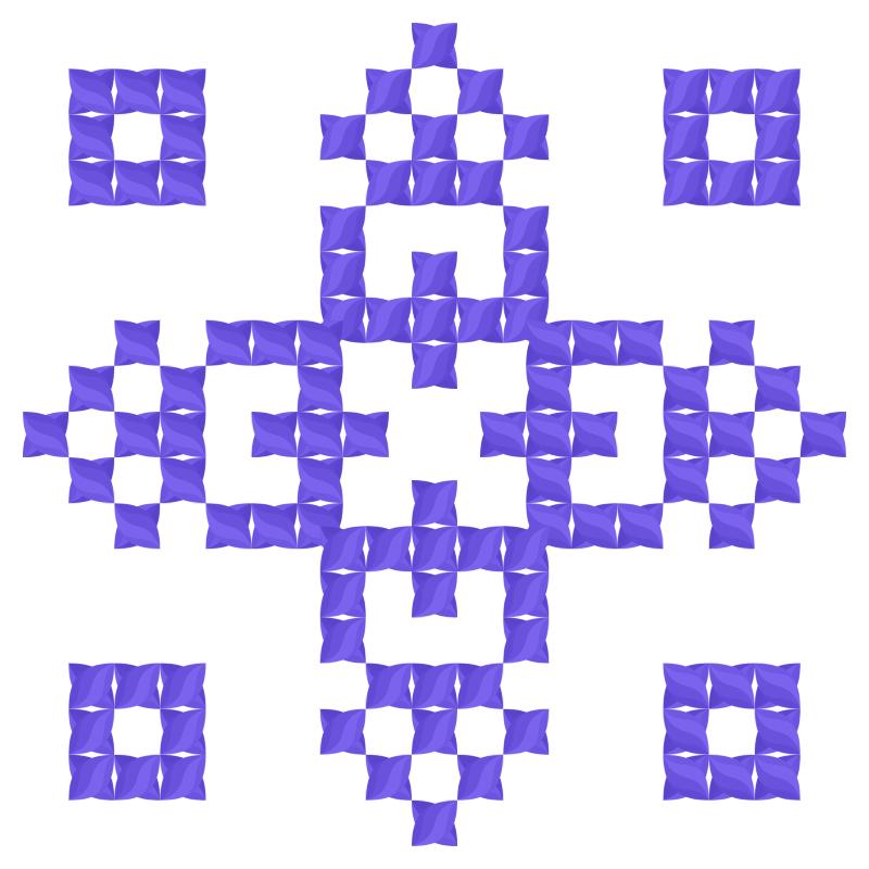 Текстовий слов'янський орнамент: Дощ