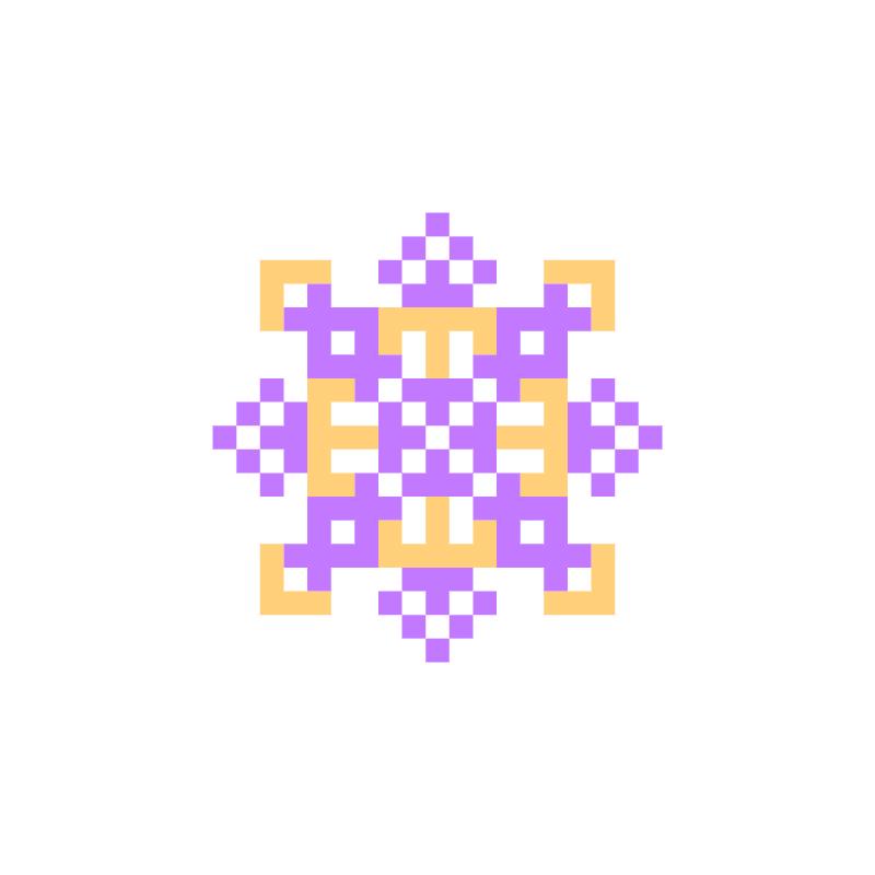 Текстовий слов'янський орнамент: Адель