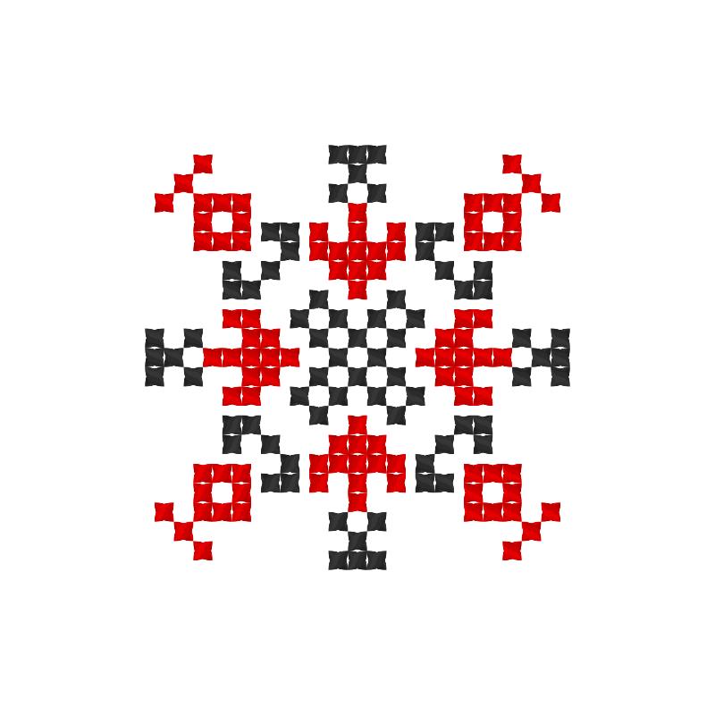 Текстовий слов'янський орнамент: Лисюк
