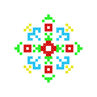 Текстовый украинский орнамент: АКБОТА