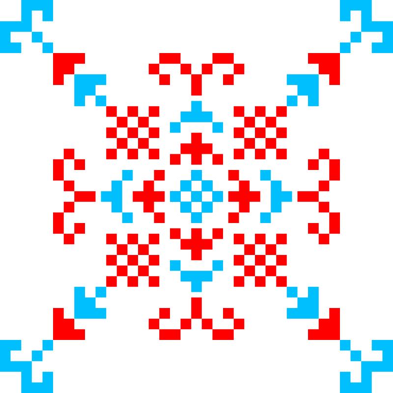 Текстовий слов'янський орнамент: БарС