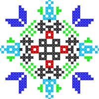 Текстовый украинский орнамент: Теофіполь