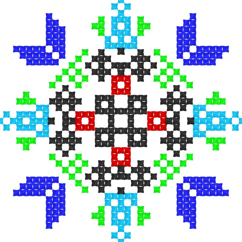 Текстовий слов'янський орнамент: Теофіполь