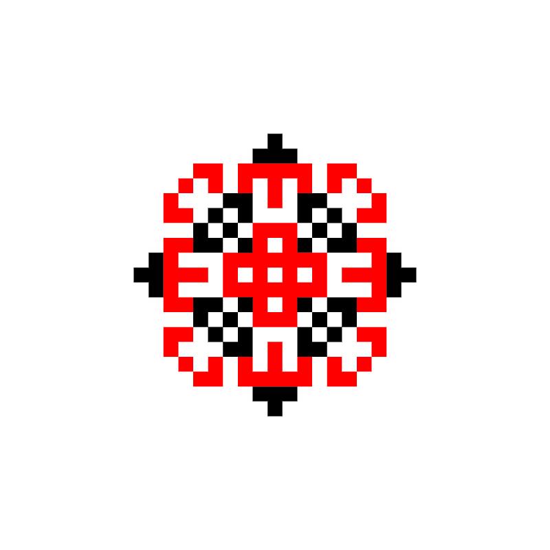 Текстовий слов'янський орнамент: Орест