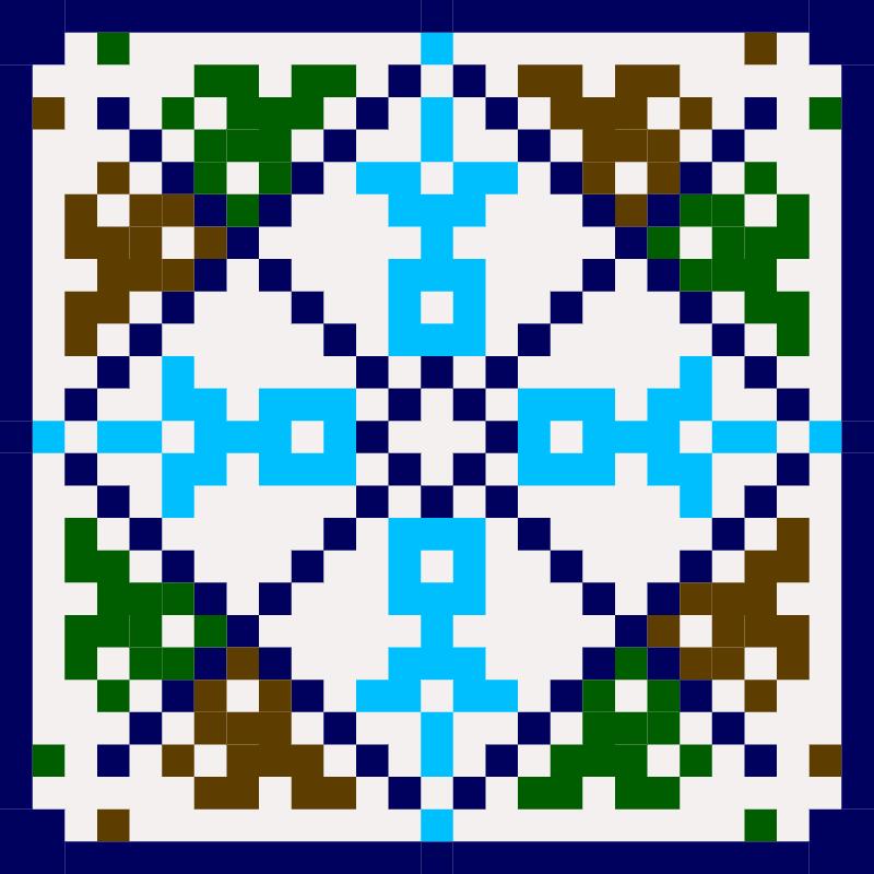 Текстовий слов'янський орнамент: ОЧІ