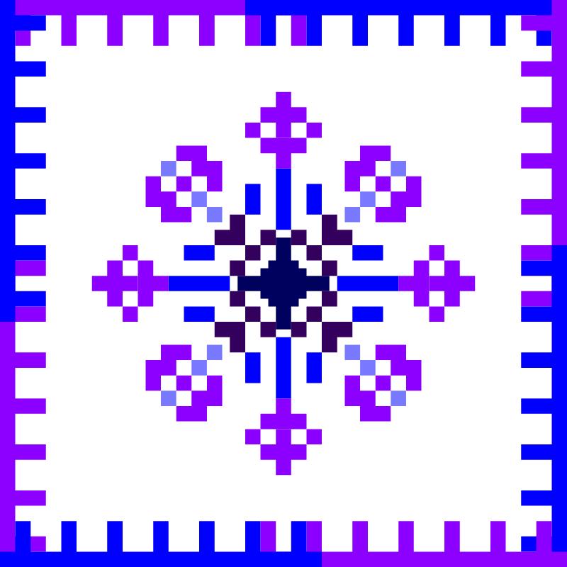 Текстовий слов'янський орнамент: 1 квітня