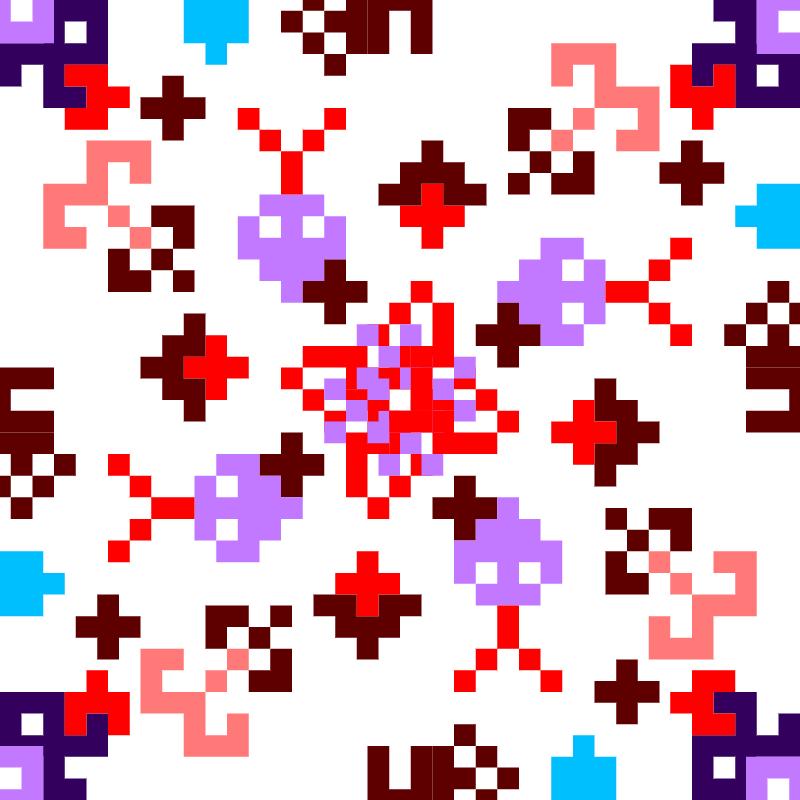 Текстовий слов'янський орнамент: Орнамент 1