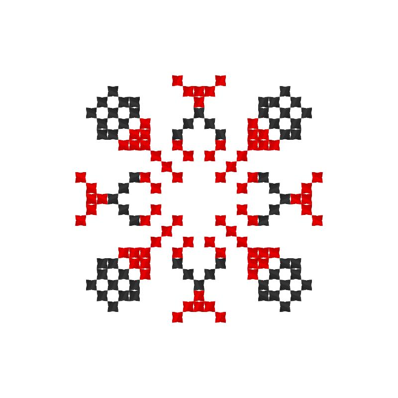 Текстовий слов'янський орнамент: Власта
