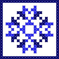 Текстовый украинский орнамент: ініціали
