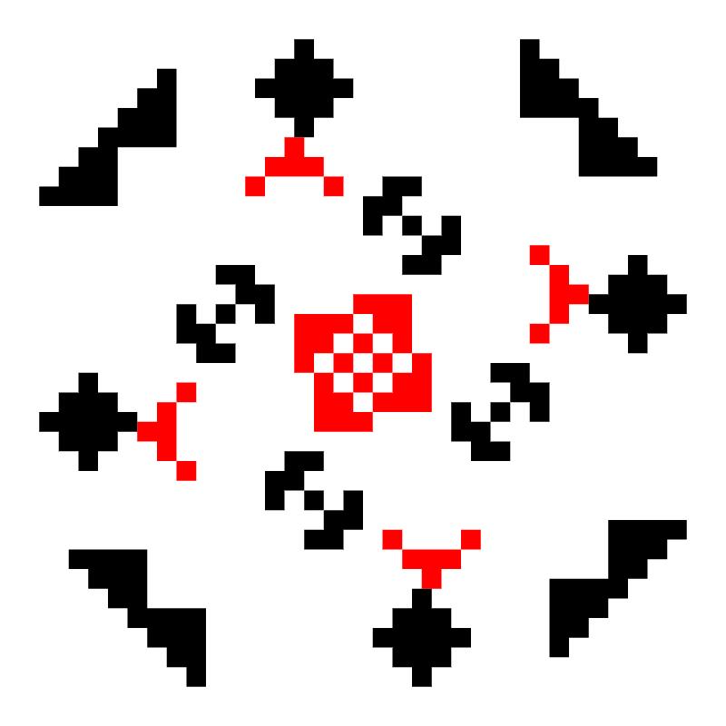 Текстовий слов'янський орнамент: моя вишиванка