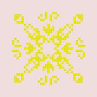 Текстовый украинский орнамент: 3 чакра Манипура
