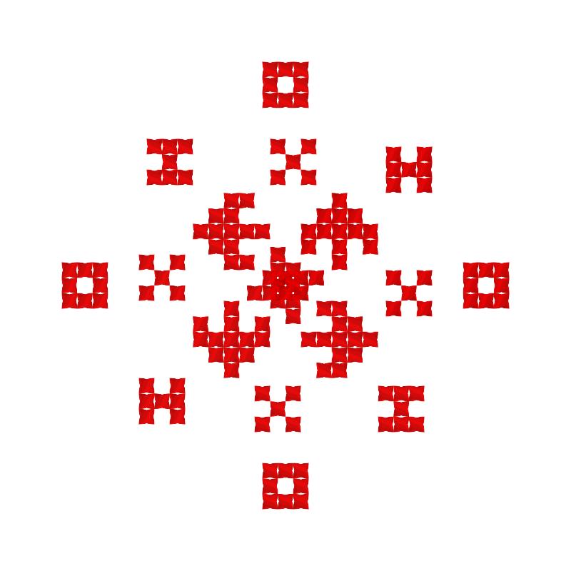 Текстовий слов'янський орнамент: Тихон