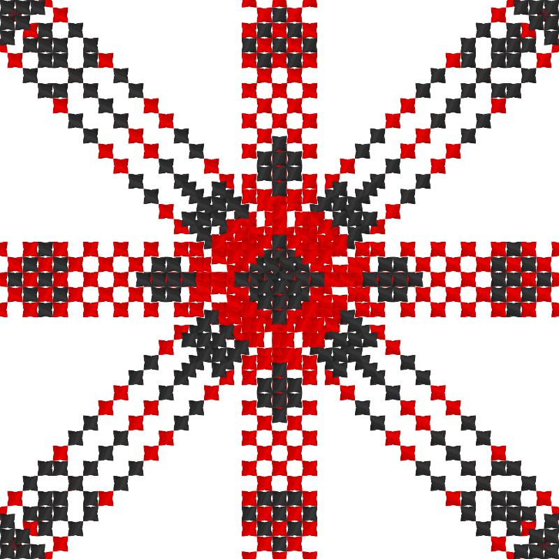 Текстовий слов'янський орнамент: 4 Фаза Нашой Судьби