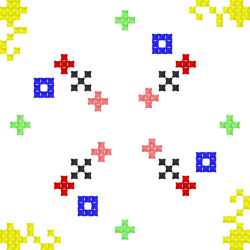 Текстовий слов'янський орнамент: цепочка
