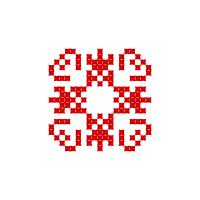 Текстовый украинский орнамент: Мир
