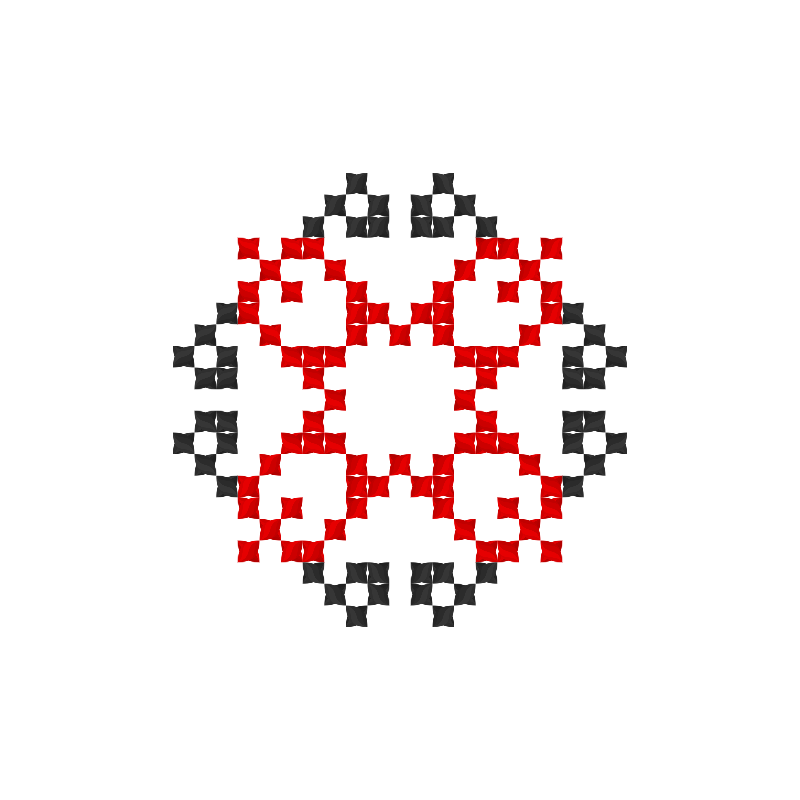 Текстовий слов'янський орнамент: Мир