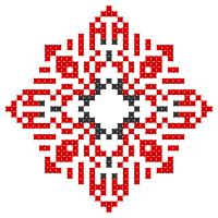 Текстовый украинский орнамент: Миколаївна