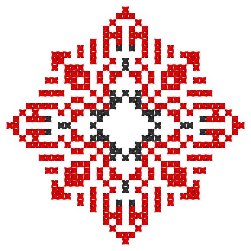 Текстовий слов'янський орнамент: Миколаївна