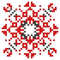 Текстовый украинский орнамент: Миколаївна1