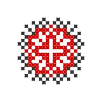 Текстовый украинский орнамент: Любов