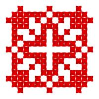 Текстовый украинский орнамент: Люба